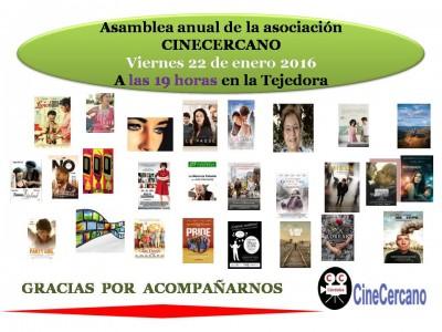 Cartel Asamblea Anual 2016